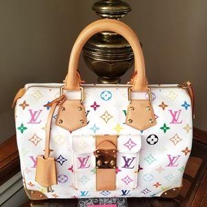 🚫SOLD🚫 Louis Vuitton Multicolor Speedy 30